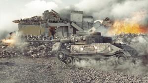 разрушение стен World of Tanks