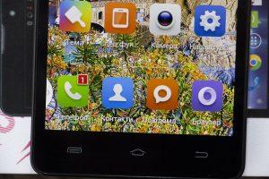 Дисплей у Ergo SmartTab 3G 5.5