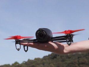 Новый квадрокоптер Parrot Bebop