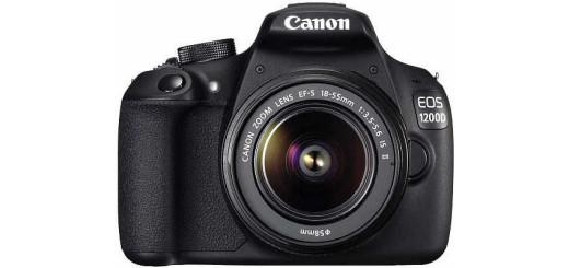 Зеркалка Canon EOS 1200D. Преимущества и характеристики