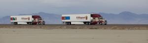 Автономные грузовики от Peloton Tech