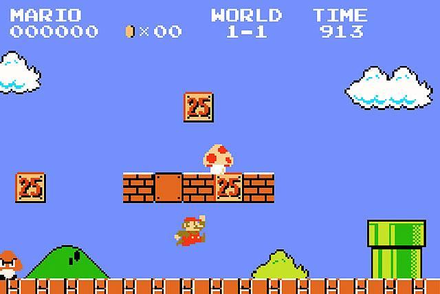 Игры с Супер Марио теперь онлайн 2