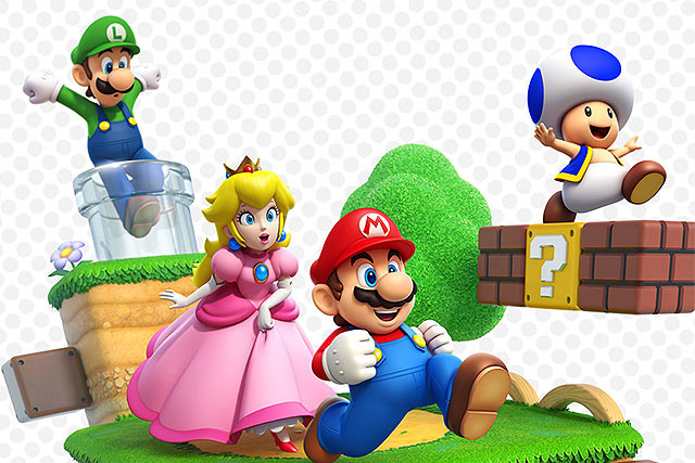 Игры с Супер Марио теперь онлайн