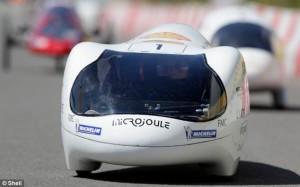 рекорд на звание самого экономичного автомобиля в мире