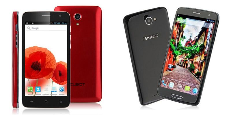 Китайские телефоны Inew и Cubot прямиком из Поднебесной