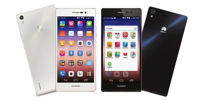Смартфон Huawei Ascend P7. Обзор характеристик