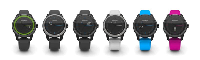 Умные наручные часы cookoo watch 2