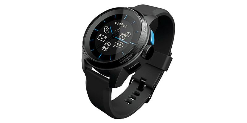 Умные наручные часы cookoo watch