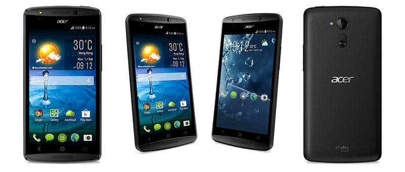 Смартфон Acer Liquid E700 на три SIM-карты