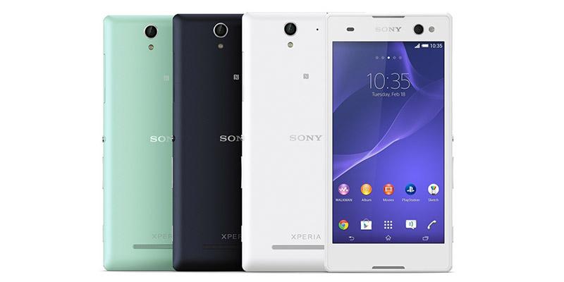Смартфон Sony Xperia C3. Основные характеристики.