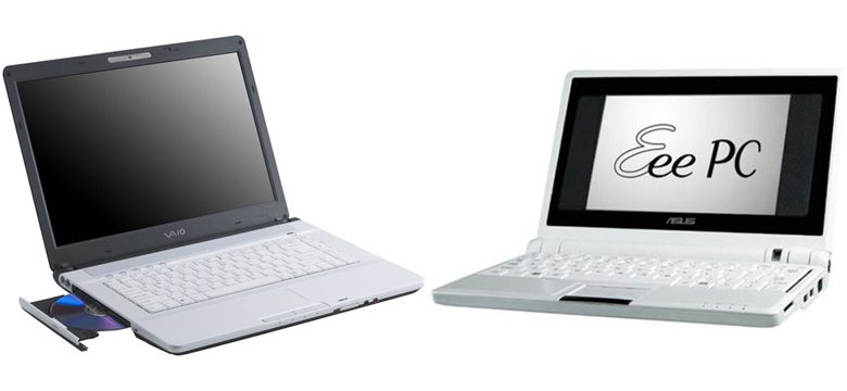 Что выбрать – ноутбук или нетбук?