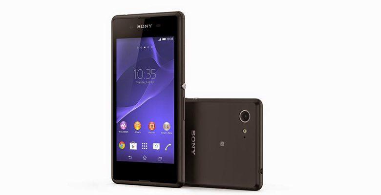 Sony представила новый смартфон Xperia E4
