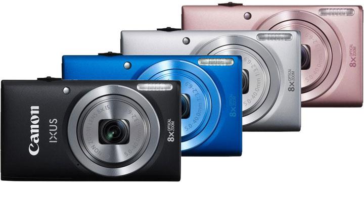 Фотоаппарат Canon Ixus 135 Wi-Fi 3