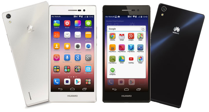 Обзор смартфона Huawei P7 Ascend 3