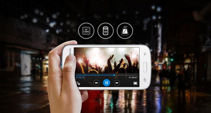 Обзор смартфона Samsung GALAXY Star Advance Duos 2