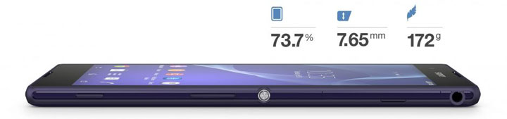 Overview smartphone sony xperia t2 ultra dual 3