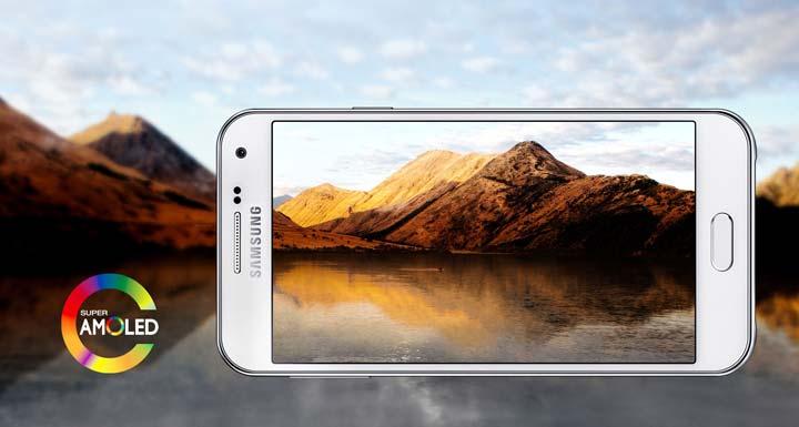 Дисплей в Samsung Galaxy E5 (2)