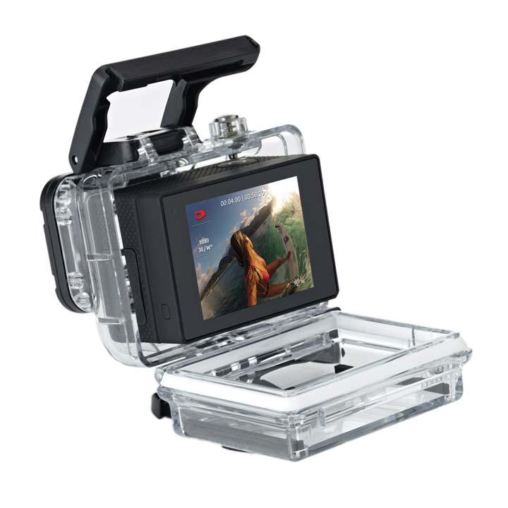 Какую камеру взять в путешествие или на отдых. LCD Touch Bacpac