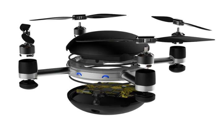Летающая камера дрон или апофеоз селфи-камеростроения 3