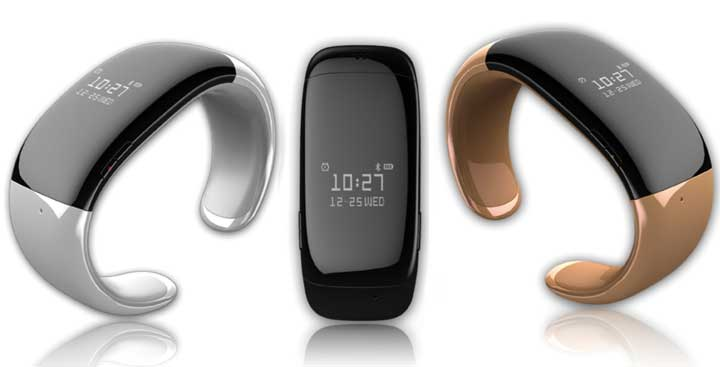 MyKronoz ZeBracelet Black - смарт-часы