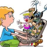 Онлайн-общение ребенка со злоумышленниками