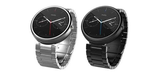 Модные смарт-часы Moto 360