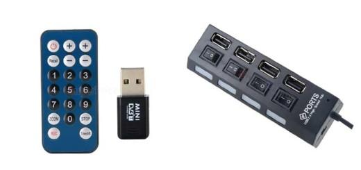 Дешевый ТВ тюнер и USB Hub для ноутбука