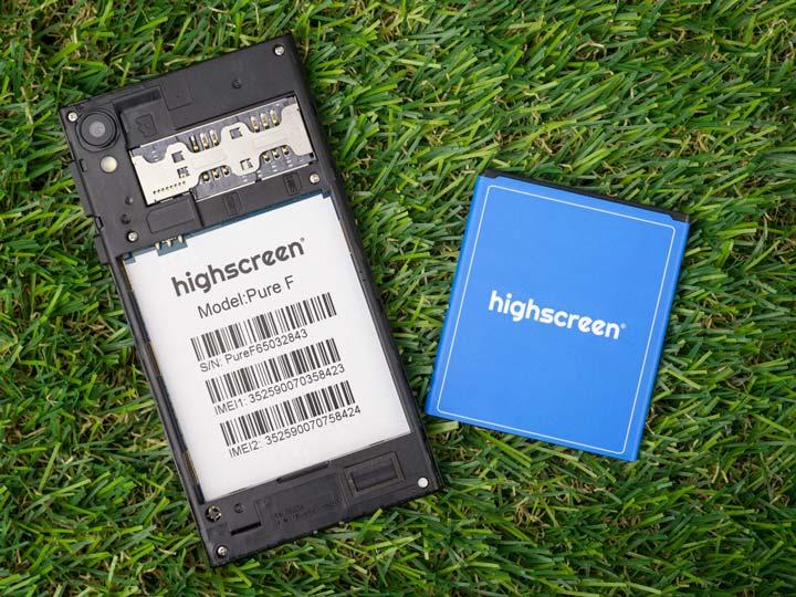 Обзор бюджетного двухсимочного смартфона Highscreen Pure F 2