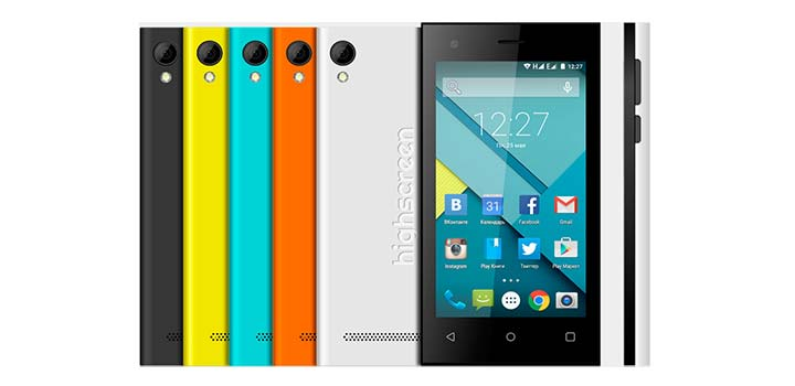 Обзор бюджетного двухсимочного смартфона Highscreen Pure F