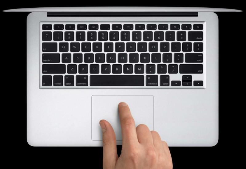 Инструменты ввода и управления Macbook Air