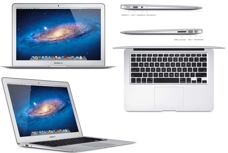 дизайн ультратонкого лептопа MacBook Air