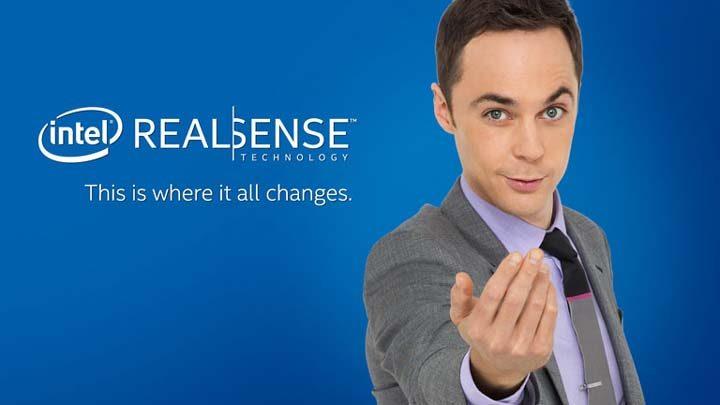 Презентация технологии Intel RealSense в рамках Intel Developer Forum 2015