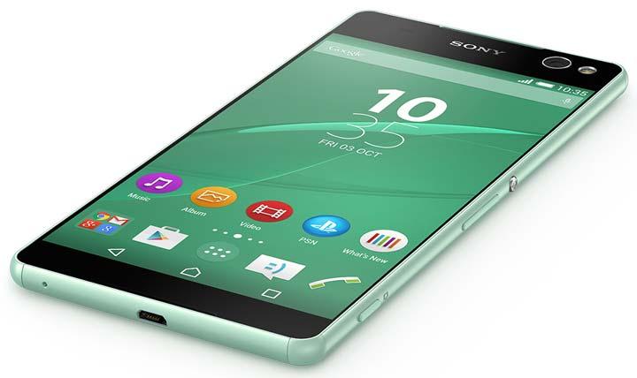 Full HD дисплей смартфона Sony Xperia C5 Ultra