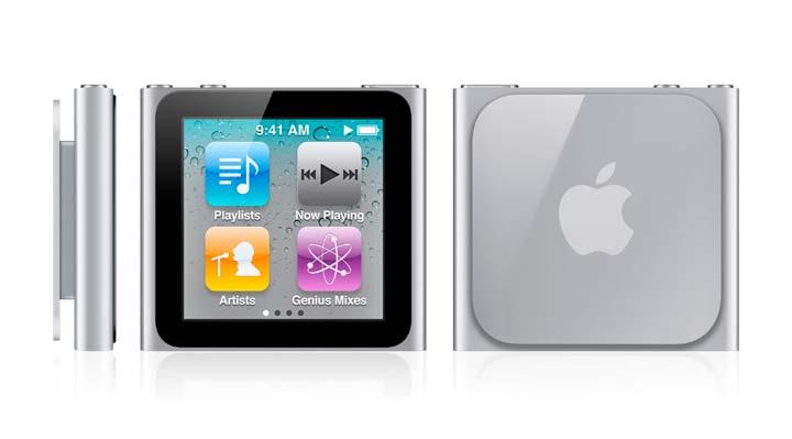 Новая-версия-плеера-iPod-Nano