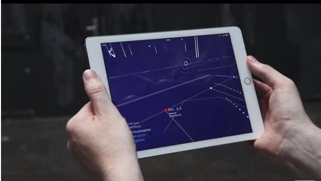 Художник смог создать приложение, позволяющее визуализировать беспроводные сигналы