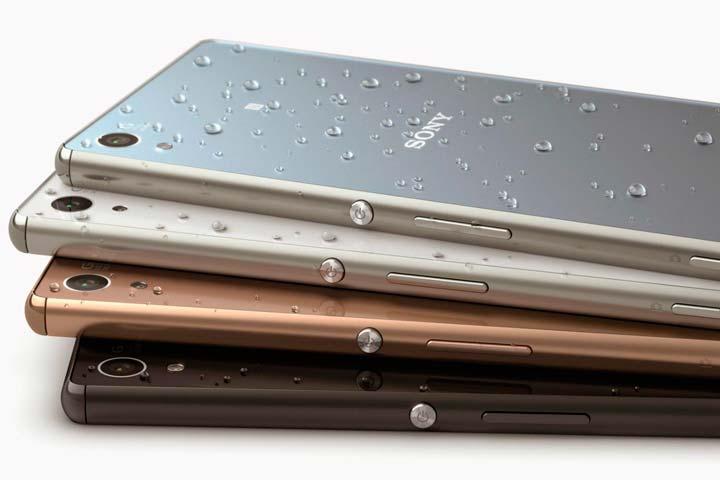 Android-смартфон Sony Xperia M5 Dual водостойкий
