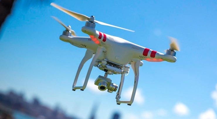 зарегистрировано более 45 000 дронов