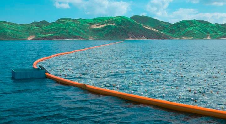 Найден способ удобного сбора мусора в океане