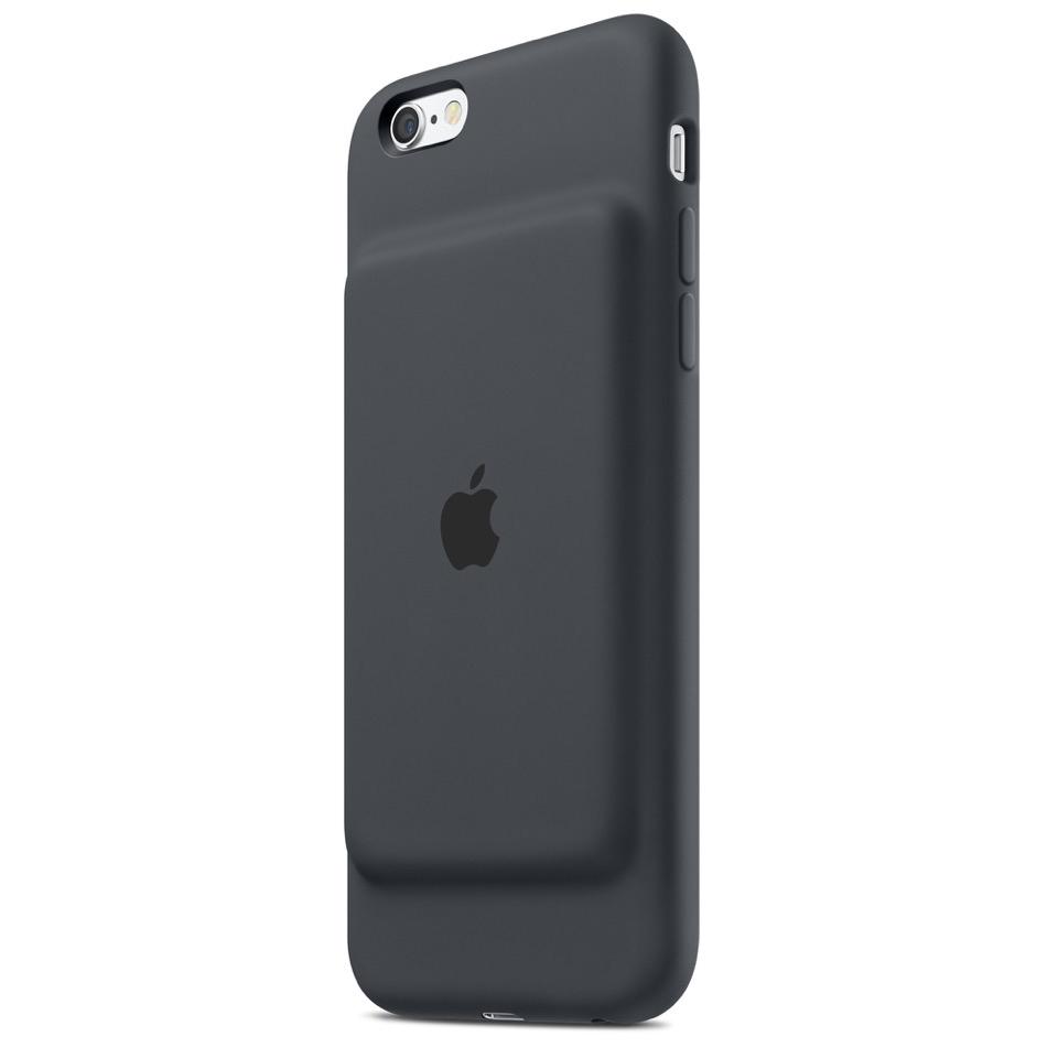 Компания Apple продемонстрировала чехол для iPhone, имеющего встроенную батарею.