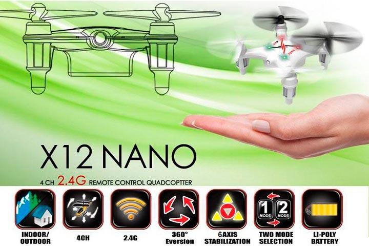Обзор квадрокоптера Syma-x12 4ch quadcopter with 6axis gyro 3