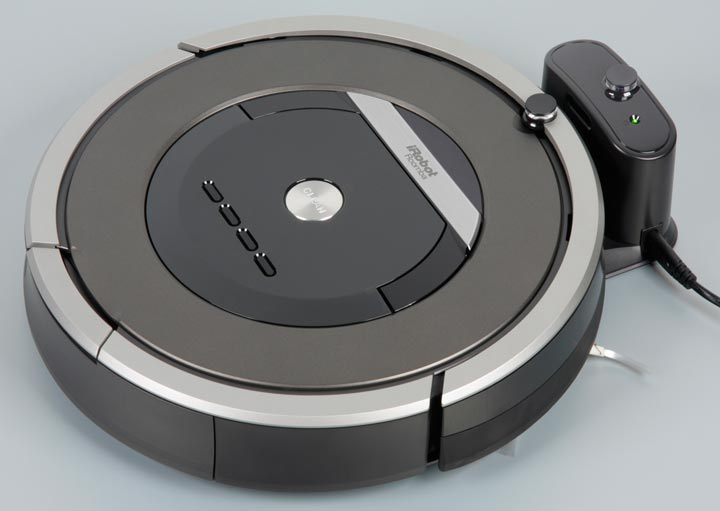 Роботизированный пылесос iRobot Roomba 870 4