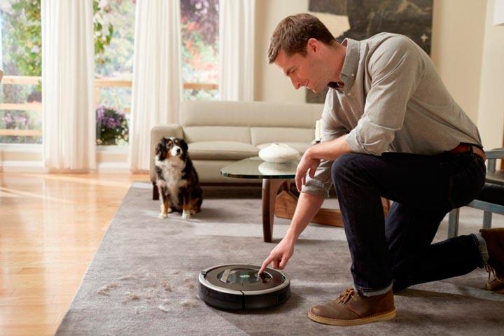 Роботизированный пылесос iRobot Roomba 870
