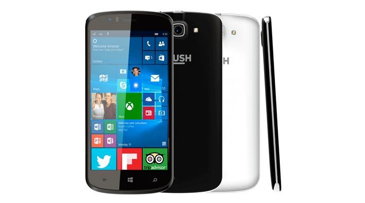 Bush Eluma - недорогой смартфон под Windows 10 Mobile
