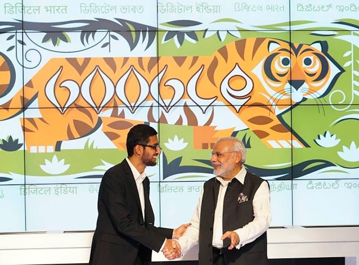 Google укрепляет позиции в Индии