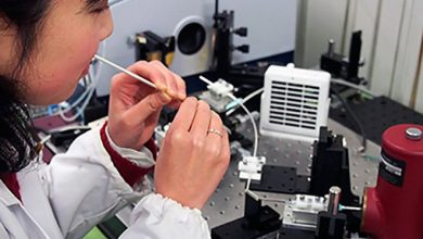 В Японии разработали технологию определения уровня сахара при помощи лазера.
