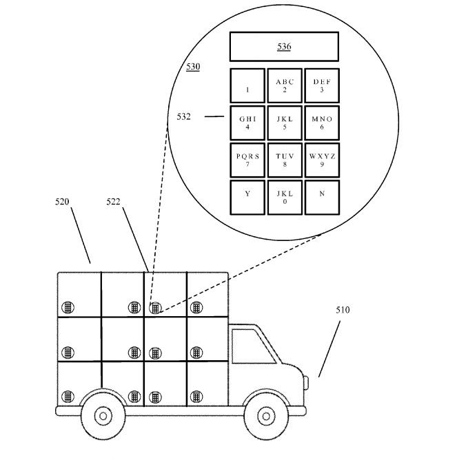 Google получила патент на беспилотный робот-грузовик.