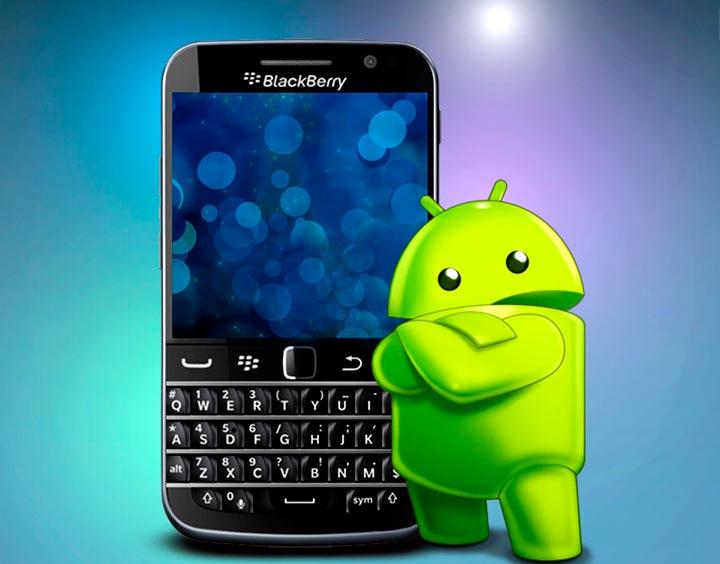 BlackBerry может полностью перейти на ОС Андроид