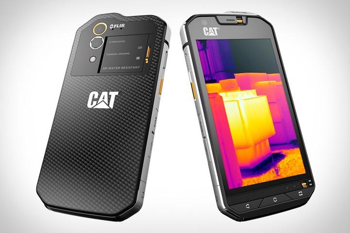 Телефон с проэктором Caterpillar S60