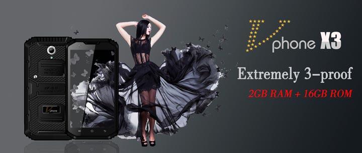 Смартфон VPhone X3