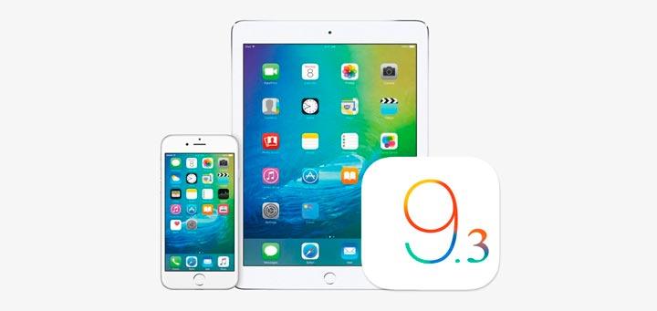 iOS 9.3 тормозит работу iPhone